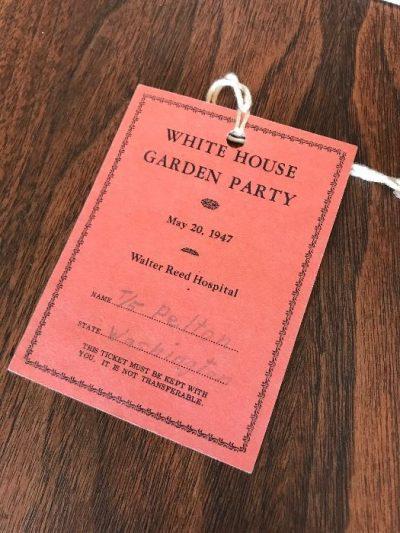 white house invite