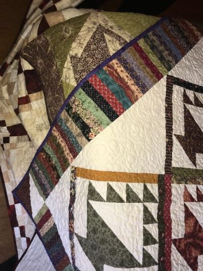 assorted quilts