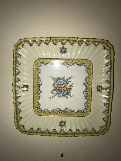 old plate