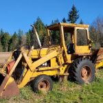 Tractor at Farm & Home Buckley Estate Sale
